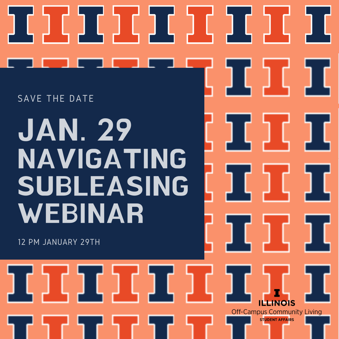 Navigating Subleases Webinar graphic